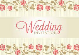 Wedding Invitation Cards Free Vintage Wedding Backgrounds Freecreatives