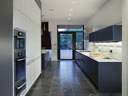grey kitchen walls dark blue fabric moress chair shine modern iron
