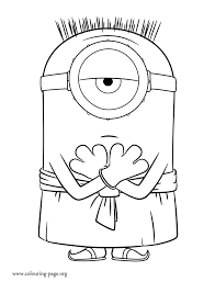 minions egyptian minion coloring