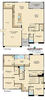 single family homes floor plans presidio new homes in vista floor plans north county new homes