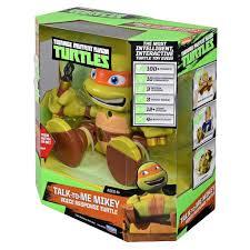 teenage mutant ninja turtles talk michelangelo figure review