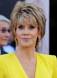 bing hairstyles for women over 60 jane fonda with shag haircut jane fonda short layered razor hairstyle for women over 60