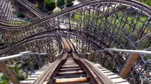Six Flags Alabama Rampage Wooden Roller Coaster Pov Alabama Adventure Visionland