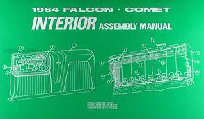 1964 falcon and ranchero comet and caliente interior assembly manual