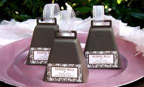 country wedding favors bells favors weddings and wedding