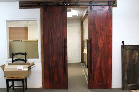 Red Barn Doors by Sliding Barn Doors Ecustomfinishes