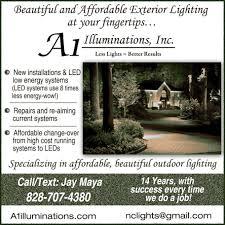 home a1 illuminations outdoor lighting jay 828 707 4380