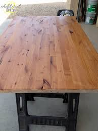 Desk Used Wood Desks For Sale Build A Wood Plank Desktop For by How To Build Your Own Butcher Block Addicted 2 Diy