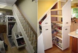 schrank unter treppe 65 ideen für stauraum unter der treppe
