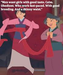 11 reactions feminist watching mulan