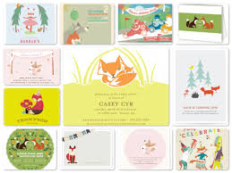 wrap party invitations fox theme party planning ideas decor u0026 supplies birthday