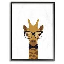 Giraffe Floor L Pattern Pink Gum Giraffe Rectangle