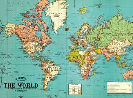 printable world map a1 vintage world map printable map print instant digital download