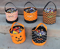 personalized trick or treat bags deals personalized candy bags pumpkin decals