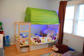 Ikea Bed Canopy by Ikea Kura Bed Canopy Simple Design For Image Of Reversible Arafen