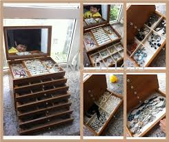 necklace storage organizer images 7 layers luxury princess fashion wooden large jewelry storage jpg