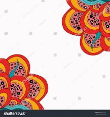doodle presentations abstract doodle corners zentangle stock illustration