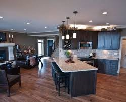 open floor plan kitchen designs spacious kitchen addition with open floor plan in monmouth county