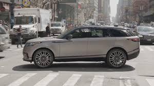 2018 range rover velar luxury suv youtube