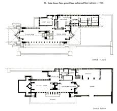 floor plans robie house house interior