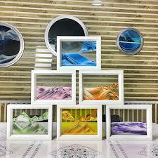 bureau coloré coloré mouvant photo en verre cadre photo verre maison