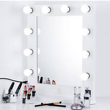Tabletop Vanity Mirrors With Lights Hollywood Vogue Vanity Mirror Parent White Ebay
