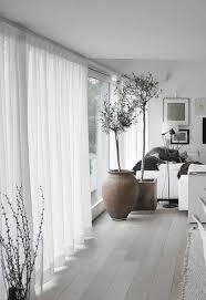 rideaux décoration intérieure salon le rideau voilage dans 41 photos rideau blanc dentelle blanche