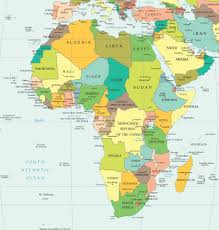 Map Of Africa Blank by Africa South Of The Sahara Map World Map