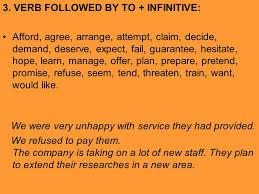 verb pattern hesitate verb patterns infinitive or ing ppt video online download