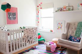 colorful modern furniture lark u0027s colorful bohemian modern nursery project nursery