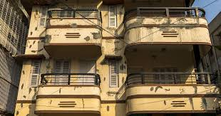art deco balcony the spread of art deco architecture in kolkata was made possible by