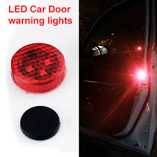 okeen car styling 4x wireles red car led door open signal warning