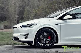 bentley red and black custom tesla model x with bentley red interior selling for 180k