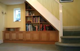 Elegant Bookcases Bookcase Diy Bookshelf Under Stairs Built In Bookshelves Under
