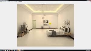 tutorial sketchup render kamar tidur sederhana youtube
