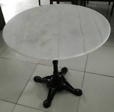 round cast iron table marble round dining tables ebay