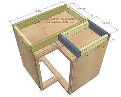 ana white 36 corner base easy reach kitchen cabinet basic quality
