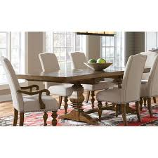 samuel lawrence american attitude dining table in oak cherry