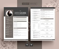 Best Resume Paper White Or Ivory by Modern Resume Template Julianna Resume Templates Creative Market
