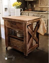 The  Best Mobile Kitchen Island Ideas On Pinterest Kitchen - Kitchen cart table