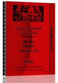 ih 585 operators manual 28 images 585 tractor operators manual