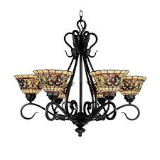 Vintage Antique Chandeliers Titan Lighting Buckingham 6 Light Vintage Antique