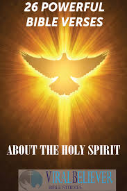 26 powerful bible verses about the holy spirit