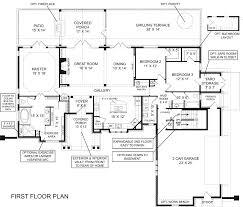 walkout basement floor plans house plan walkout basement plans lake ranch with rustic modern