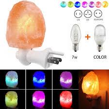 crystal plug in night light aliexpress com buy fashion crystal salt l with grounding plug