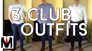 clubbing clothes 3 affordable clubbing for men