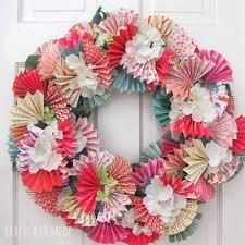 diy wreaths 12 diy wreath ideas for the season diy paper wreaths