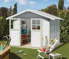Grosfillex Fence by Grosfillex Deco 2m X 2 4m Pvc Shed Gardensite Co Uk