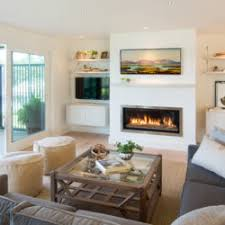 Stunning Beach Style Living Room Photos Home Design Ideas - Beach style decorating living room