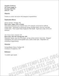 Reference Resume Examples by Resume Examples Top 10 Hair Stylist Resume Template Downloads